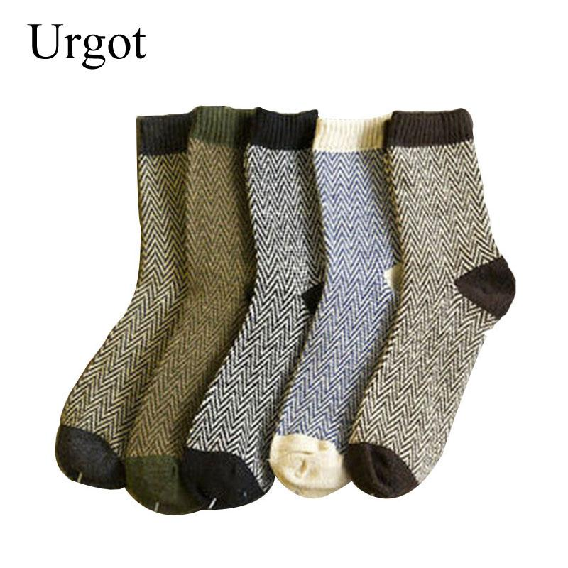 Men/'s Warm Winter Thick Wool Mixture Angora Cashmere Colourful Casual Dress Sock