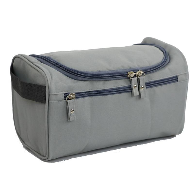 Ropa Misceláneas Bolsa de almacenamiento Bolsas de maquillaje de moda Unisex Bolsa de lavado portátil de viaje Tela Oxford exterior Bolsas de cosméticos duraderas DH1101