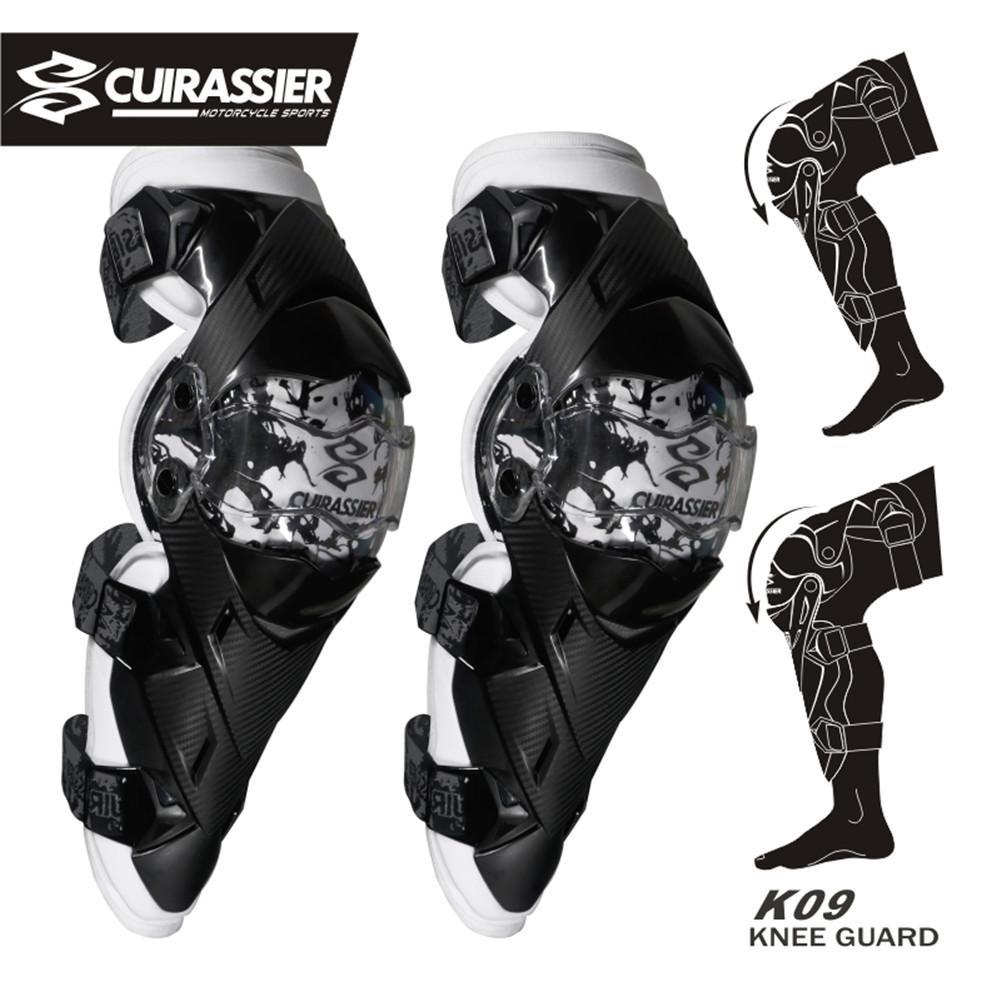 Cuirassier Rodilleras para motocicleta Protección para rodilleras Protección Off Road MTB Motocross Brace Codo Protecciones Accesorios de protección