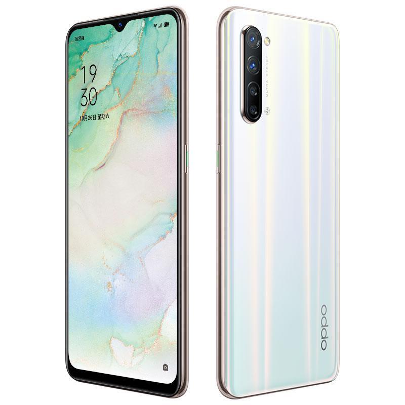Original Oppo Reno 3 5G LTE Handy 8 GB RAM 128 GB ROM Mediatek 1000L Octa-Core 6,4-Zoll-Full Screen 64MP NFC Fingerabdruck-ID-Handy