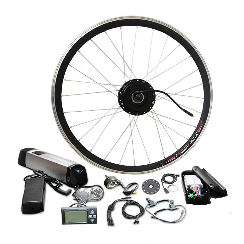 Promotional Price 36V 12A Samsung Battery 350W Electric Motor Bicycle Kit bldc Controller LCD Display PAS MTB road Bike parts