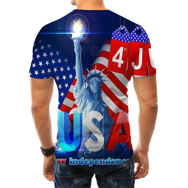 20ss Hombres camiseta de verano tops casuales camisetas para los hombres camiseta de manga corta de las mujeres 3D camisetas impresas de cuello redondo