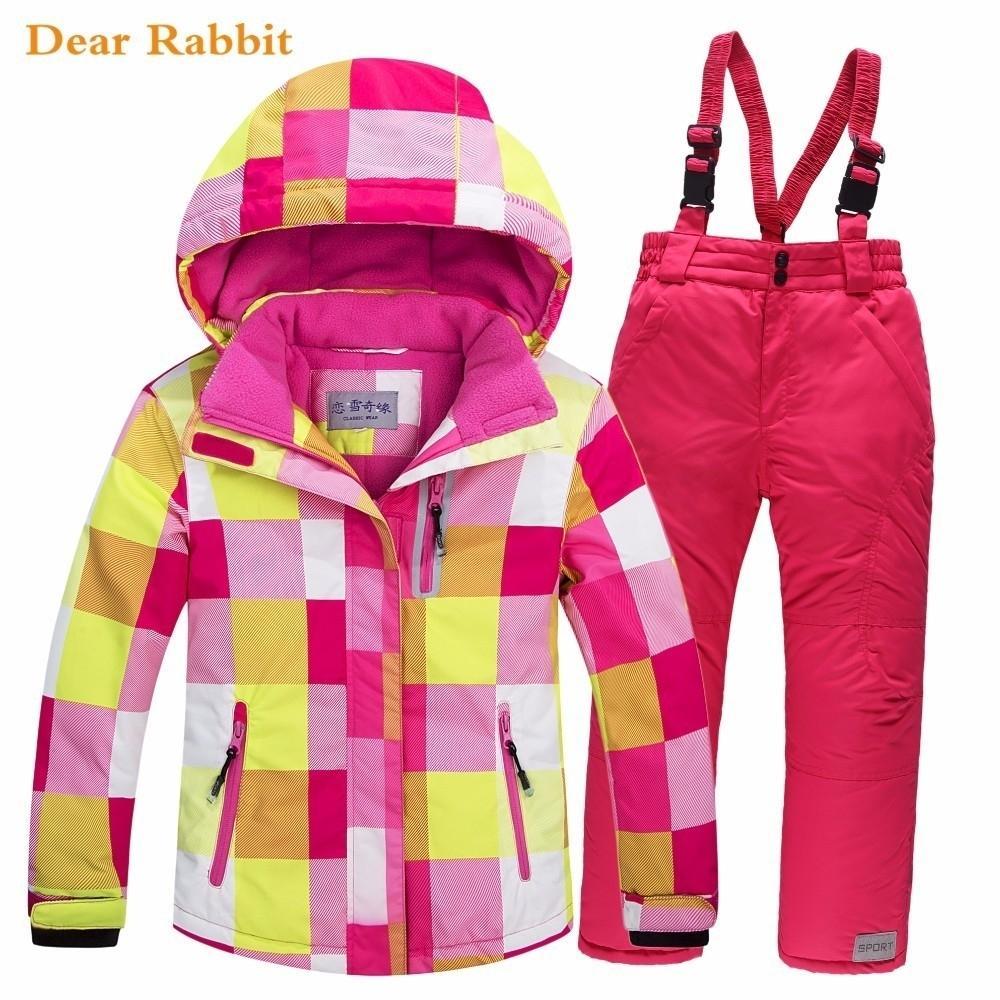 -30 grados 2.019 niños de esquí juego determinado de grueso impermeable adolescente Boy frío a prueba de ropa al aire libre a prueba de viento de invierno Trajes Y191026 niños