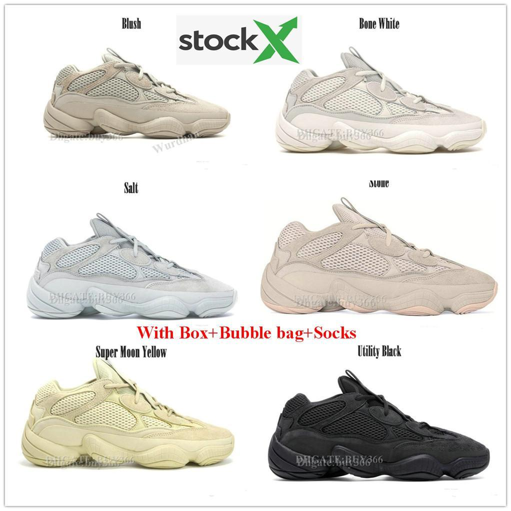 2020 AdidasYeezy350V2Yeezys700 500 380 Kanye Top With Box Kanye West 500 Desert Rat Bone White Super Moon Yellow Utility From D_designerbrand,