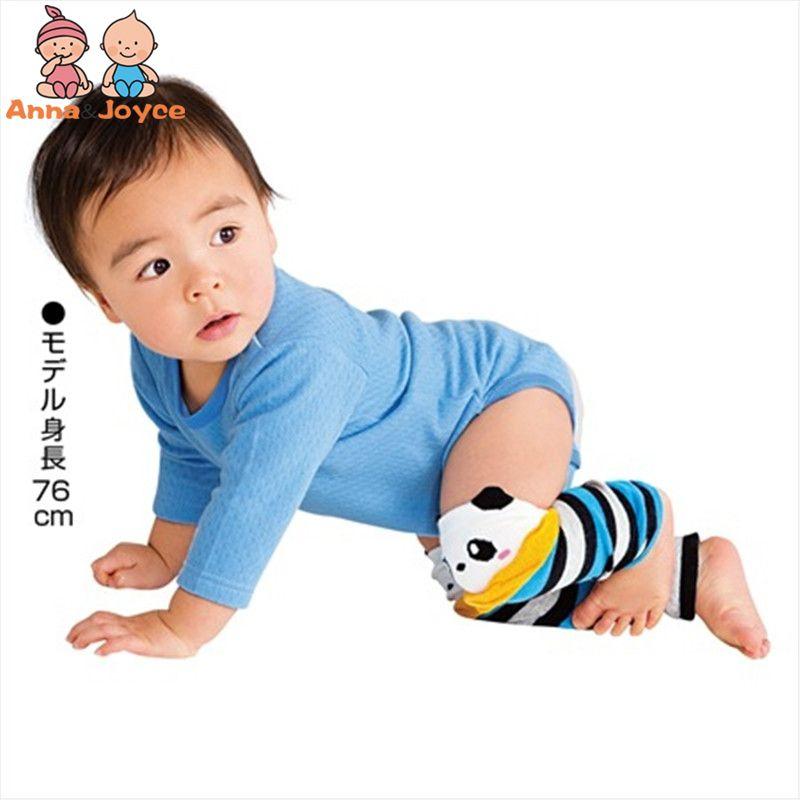 3 Paare / Los Baby-Climbing Knie Drei - Dimensional Baumwollbeinwärmer Kinder-Bein-Wärmer