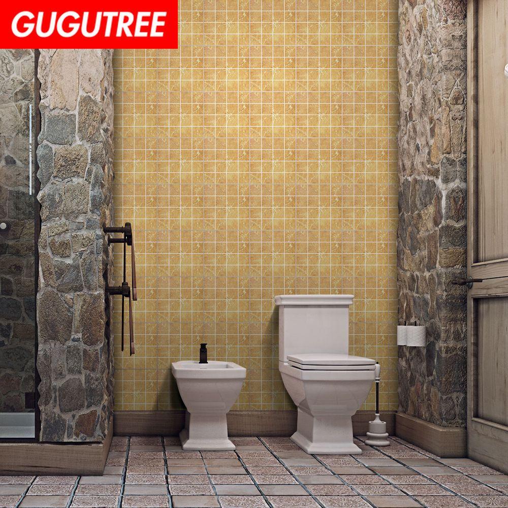 Decorar el hogar 3D azulejo de cerámica arte de la historieta etiqueta de la pared decoración calcomanías pintura mural removible decoración Wallpaper G-921