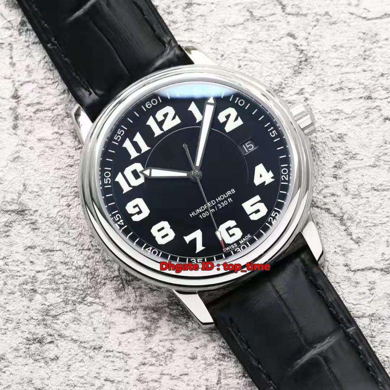 Compre Estilo 3 El Mejor Reloj 38MM Léman Ultra Slim ETA 2824 Reloj Automático Para Hombre 2100 1127 53A 2100 Acero Negro Dial Correa De Cuero Relojes