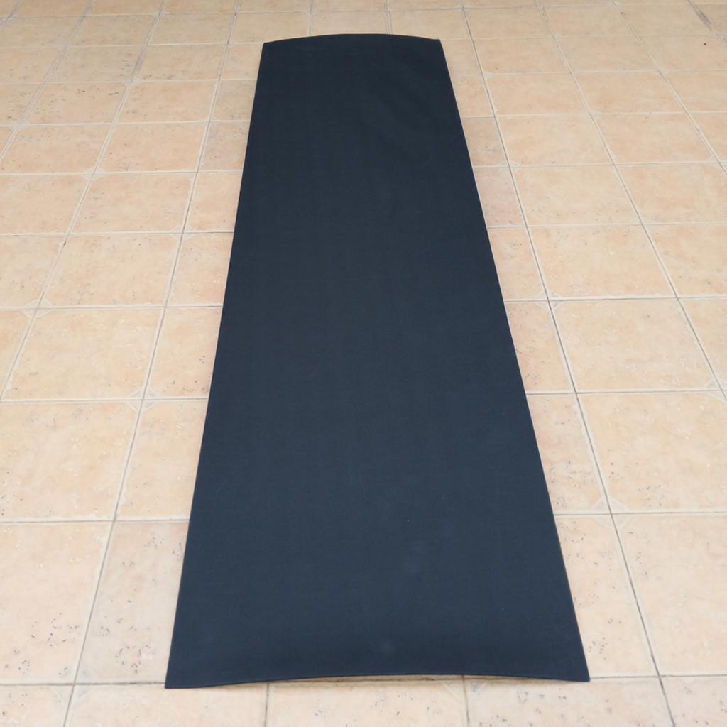 Водонепроницаемый EVA Foam Teak Sheet Морской коврик для яхт противоскользящий черный