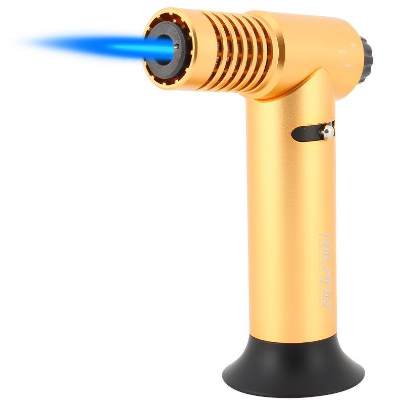 GOOD Fackel-Feuerzeug-windundurchlässige Einflammrohr Jet Butanfeuerzeug Aluminiumlegierung Inflatable Zigarettenanzünder Raucherzubehör