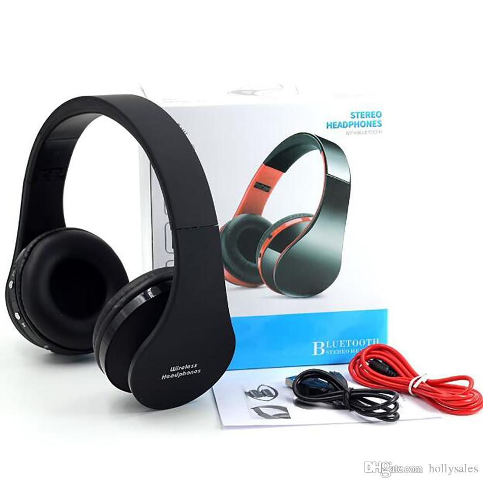 NX-8252 faltbare drahtlose Bluetooth-Stereo-Kopfhörer-Kopfhörer mit Mikrofon für Freihand-IPhone 12 / IPad 10.2 / Samsung s20 mit Großhandelspreis