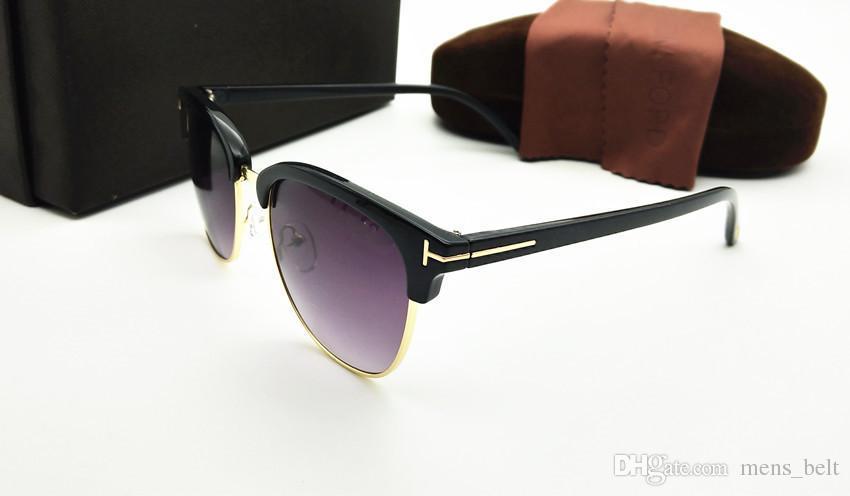 2019 vendita calda moda Tom designer di marca occhiali da sole polarizzati mens Womens occhiali da sole tf uv400 oculos masculino maschio occhiali tr90