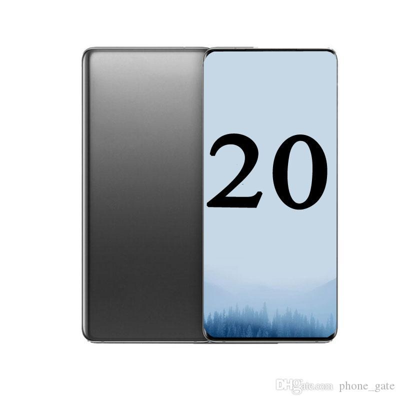 Goophone 20U N20U N20U + Andorid 1GB RAM 4GB / 8GB / 16GB ROM بلوتوث واي فاي المزدوج سيم 3 جرام WCDMA عرض 5G الهاتف المحمول كاميرا كاملة الشاشة