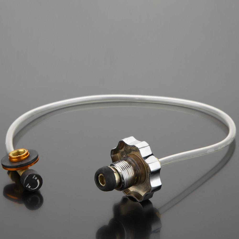 Camping Gas Stove Switching Charging Inflatable Valve Adapter for Flat Tank DSUK