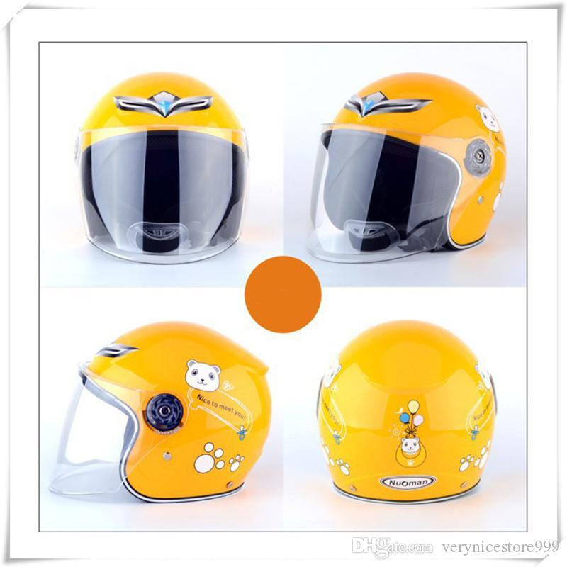 Outdoors Children Cycling Helmet Full Face Bike Helmet For Kids Girls Boys Safety Protector Riding Equipment Motorcycle Helmet