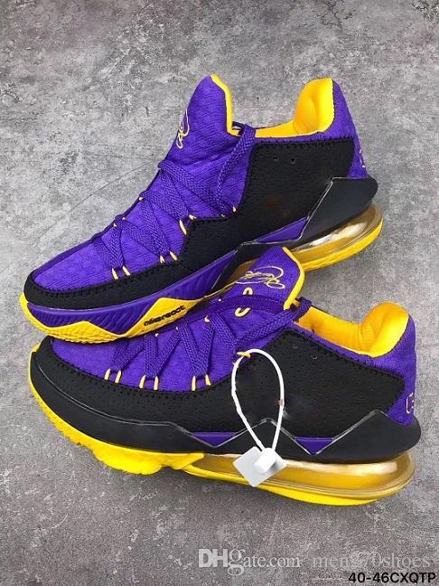 17s violet Chaussures de basket-ball rouge Baskets mode Homme Future Lakers 2K Arena Signature Violet New Arrival 2020 Mens Designer Formateurs Panier