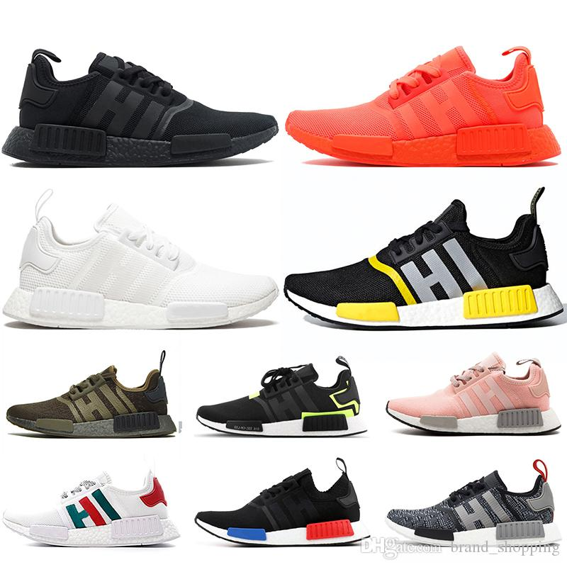 2020 Top Quality Nmd R1 Trainers Breathable Running Shoes For Men