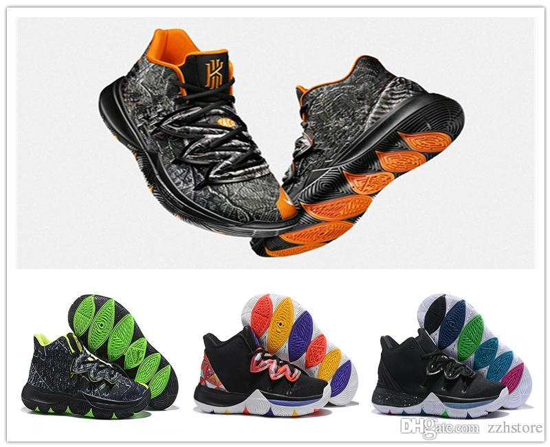 2020 2019 New Kyrie 5 Shoes Black Magic