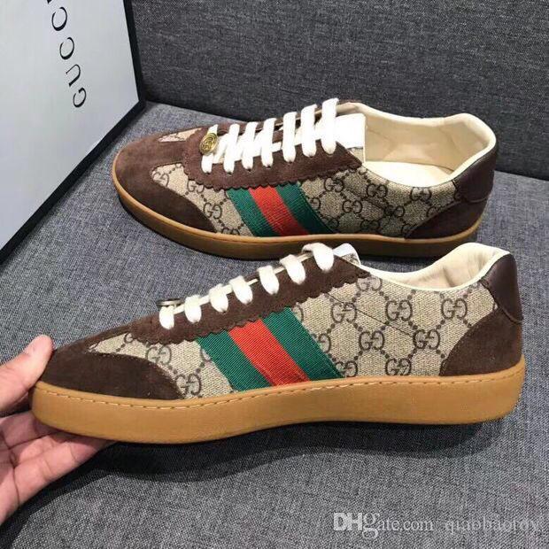 Novos homens da moda sapatos casuais sapatos de trabalho de moda calçados esportivos confortáveis negócio das mulheres caixa de embalagem original Zapatos Hombre G002