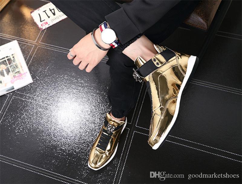 2020 الساخن بيع جديد أزياء الرجال في الهواء الطلق الاتجاه أحذية رياضية المد ثوب واحد، يفضل السجادة الحمراء أحذية الرجال مشرق البرية ل