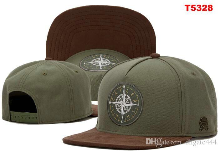 Cayler Sons Snapback capsula los sombreros de béisbol ajustable del sombrero Cayler Sons Snapbacks Marca brújula sombrero Gorra Gorras para hombres mujeres