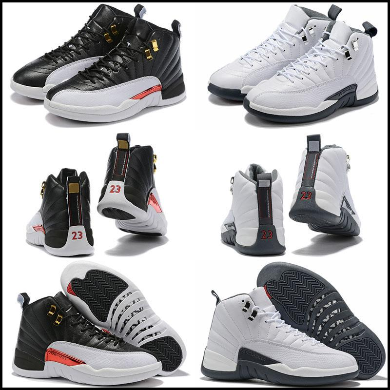 Mens Kids Basketball Shoes XII Jumpman 12 Men Women 12s Flu Game French Blue The Master Gym Red Taxi Shoes Sport Shoe