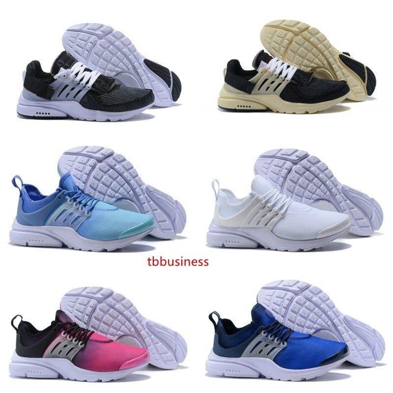 Novos esportes Presto Running Shoes Homens Mulheres Presto Ultra BR QS Rosa Amarelo Oreo Outdoor Moda Jogging Sneakers Tamanho EUR 36-46