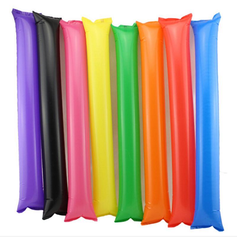 Cheering Sticks Vocal Concert Noise Maker Inflatable Cheer Sticks Cheer Team Against Stick KTV Bar Event & Party Supplies