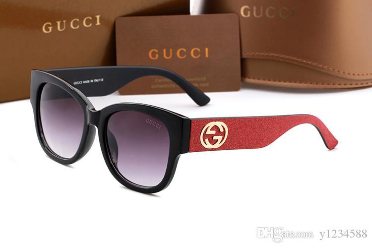 2019 Occhiali da sole di marca europea polarizzata importati più recenti moda Uomo Donna Designer Occhiali da sole Donna Cornice Occhiali da sole da esterno 0353