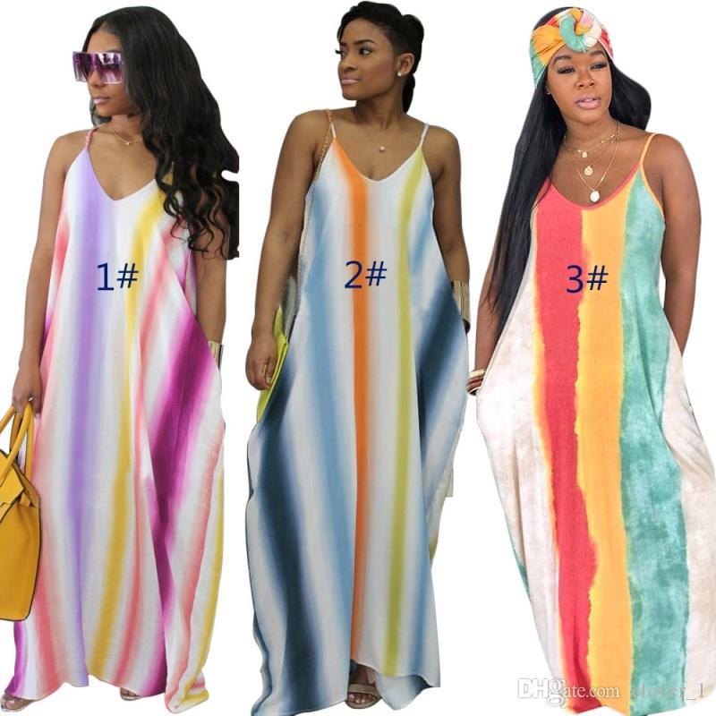 Kadın Tasarımcı Maxidress Designer Kat Uzunlukta Tek Parça Elbise Yüksek Kalite Gevşek Etek Zarif Lüks Clubwear KLW1264 AJGXW