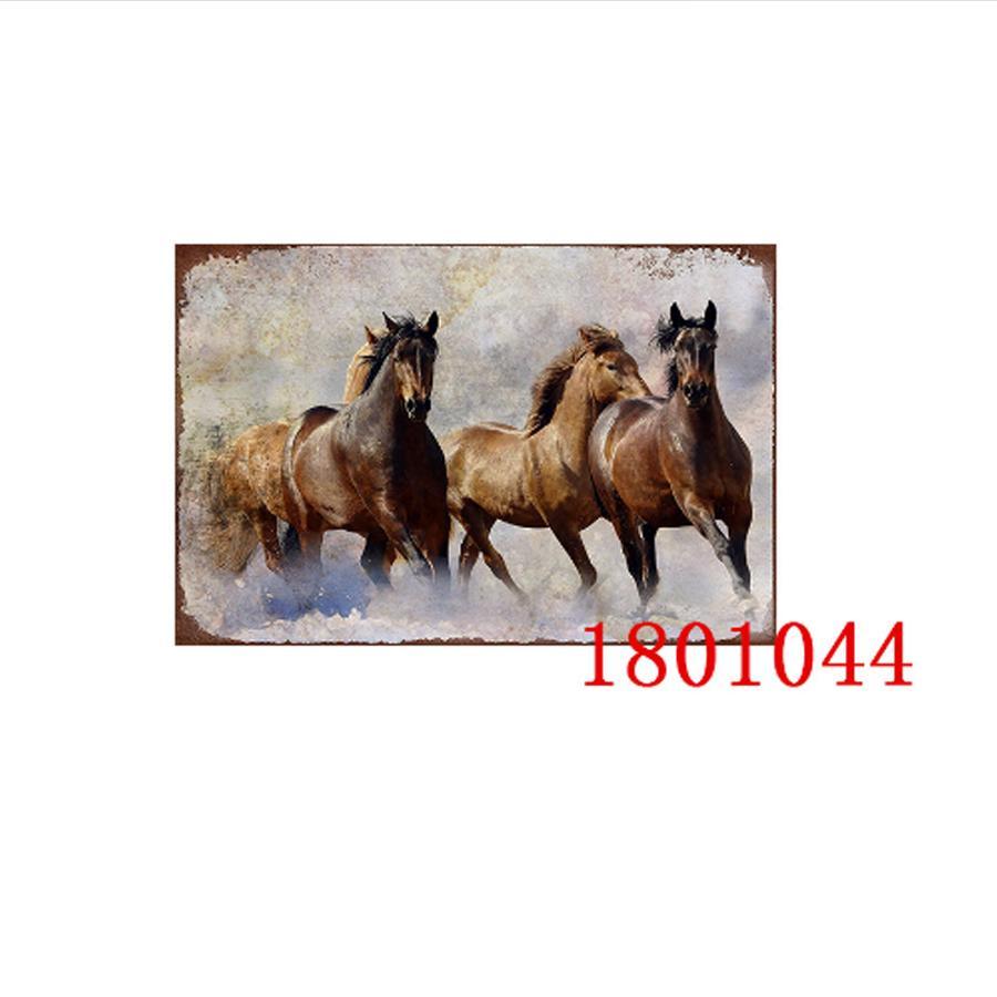 Hot equitazione metallo Targhe in metallo d'epoca Poster placca di metallo Club della casa della parete di arte di arte della pittura Immagini decorazione della parete di 20 * 30 centimetri in metallo