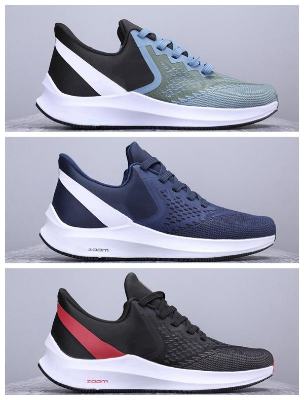 New Arrival ZOOM WINFLOS w6 Running shoes Men Womens W6 breathable Trainer Sports Shoes ladies Cusual outdoor vomero zoom SHIELD Sneakers