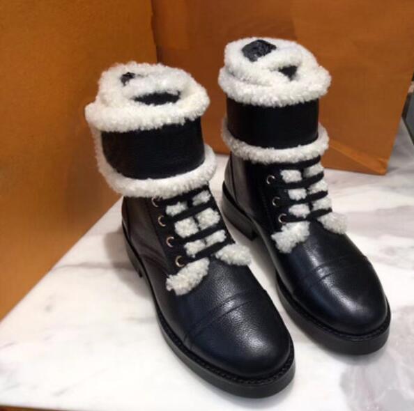 Di vendita calda Inverno Martin stivali di lusso originale visone pelliccia di agnello vera pelle scamosciata sexy fashion brand caldi e stivali morbidi motociclo