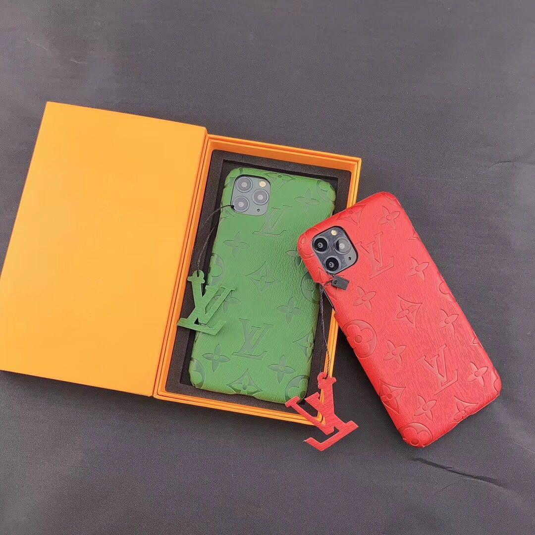 Top qualité célèbre marque Designer Phone Case pour iPhone 11 Pro XS Max XR X 6 7 8 Plus