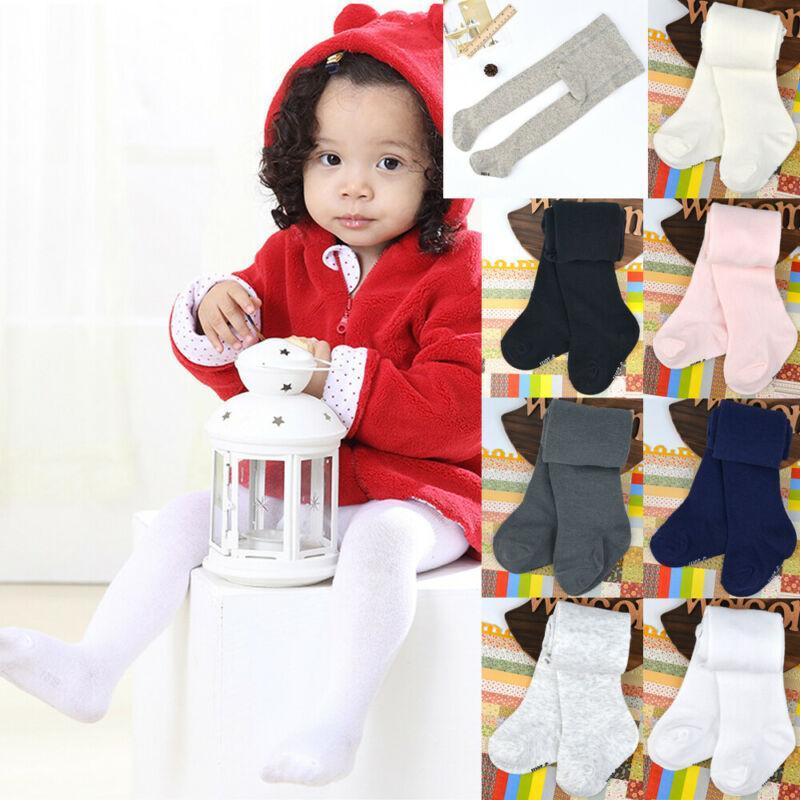 Hot Kids Toddler Pantyhose Tights Stocking Cotton Children Baby Girls