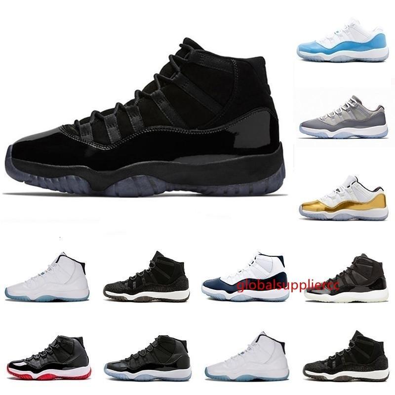 2019 bal nuit XI 11s 11 chapeau et robe Hommes Femmes Chaussures de basket Concord 45 space jam élevé Hommes Sneaker Chaussures de sport avec