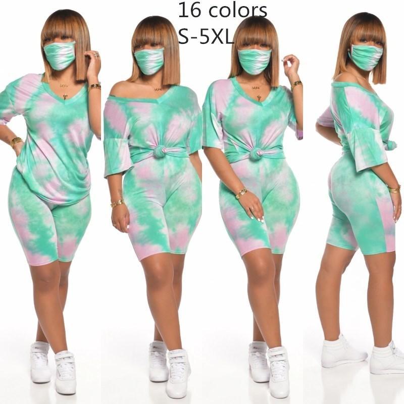 Womens outfits short sleeve 2 piece set tracksuit jogging sportsuit shirt shorts outfits sweatshirt pants sport suit hot selling klw3680