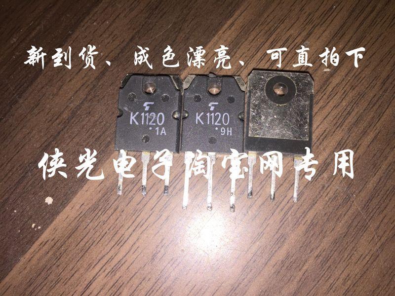 Usado Original Transistor de Campo-Efeito 2SK1120 K1120 MOSFET TO-247 TO-3P Teste Ok