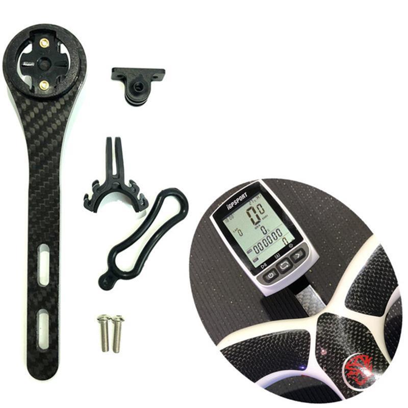 Bike Handlebar Mount Holder Extension Bracket For Garmin Edge GPS Bryton Gopro