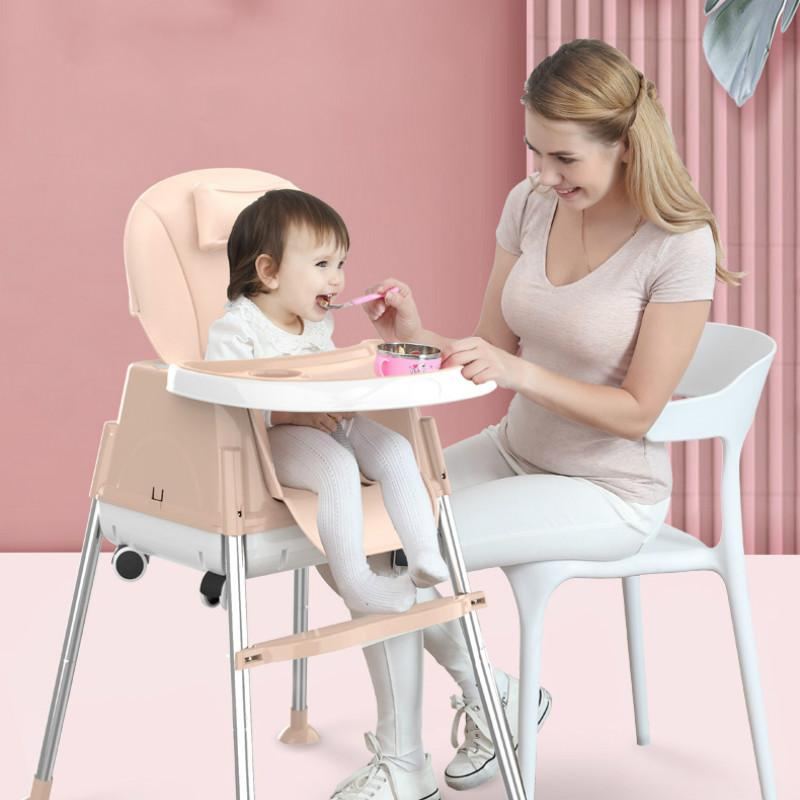 KID'S Multi-functional Fold-able Portable baby high chair baby kids feeding chair kids table and dinning chairs