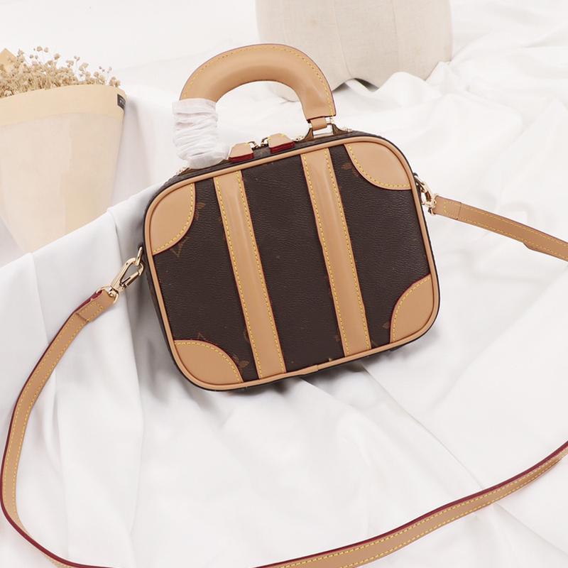 Crossbody singole borse sacchetti di spalla 19 mini Deposito-epoca delle donne di età compresa tra Classic Canvas borsa della signora di cuoio reali VVN
