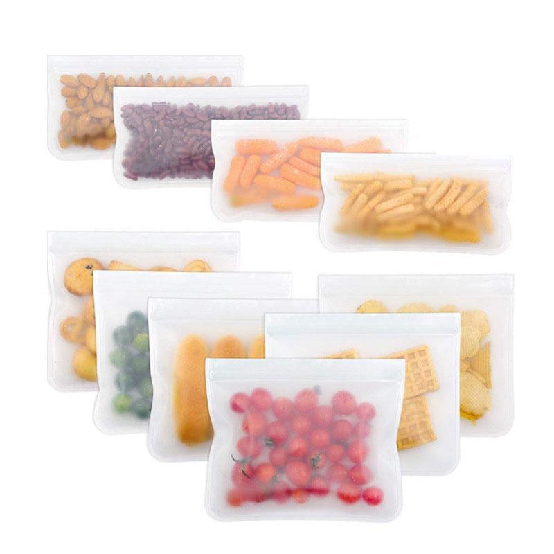 Kühlschrank PEVA Food Storage Fresh-Keeping-Tasche Dreidimensionaler Aufbewahrungstasche Küche Lagerung gefroren versiegelten Beutel Haushalt XD23618
