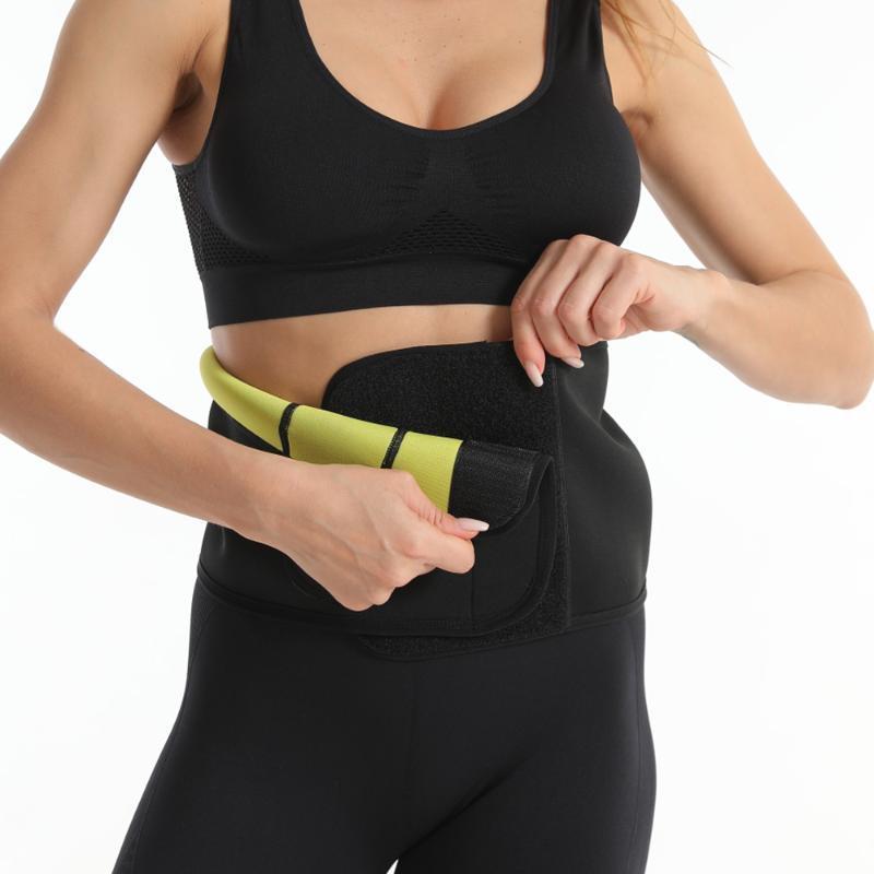 2020 donne e supporto regolabile uomini Elstiac cintura di neoprene Faja del tratto lombare sudore cinghia di forma fisica vita Trainer Heuptas