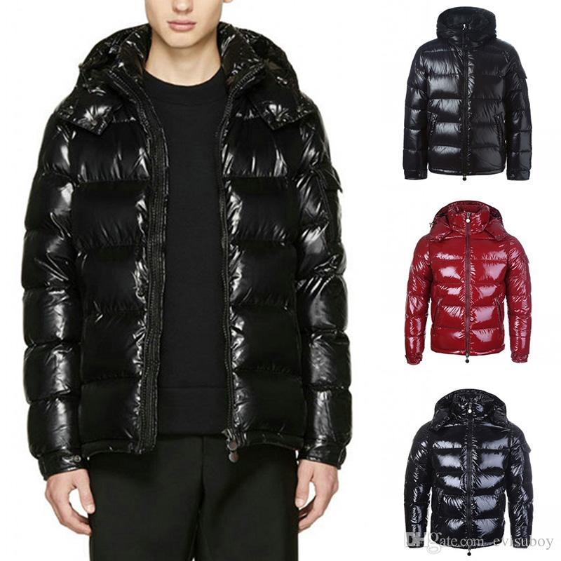 Зимняя куртка утепленная Мужчины Женщины Классический Повседневный вниз пальто Mens Стилист Открытый теплая куртка высокого качества Unisex пальто и пиджаки