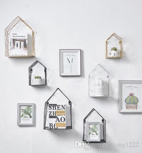 Put the doll's shelf room shelf Nordic wind girl ins small house wall decoration house bedroom