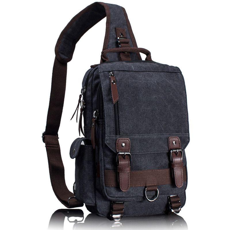 Crossbody Bags For Women Backpack Canvas Shoulder Handbag Letter Travel Bag Large Capacity Messenger Purse Waterproof