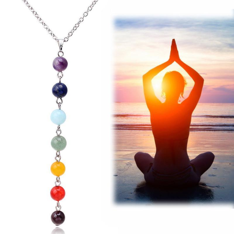 Durable Vestir presente coloridas rosário Para camisola de compras Yoga Casual Mulheres Colar