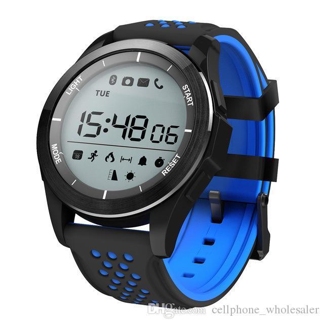 F3 Smart Watch Altitude Meter Sports Bluetooth Wasserdicht Schwimm intelligente Armbanduhr Pedometer im Freien Smart-Armband für Android iPhone iOS