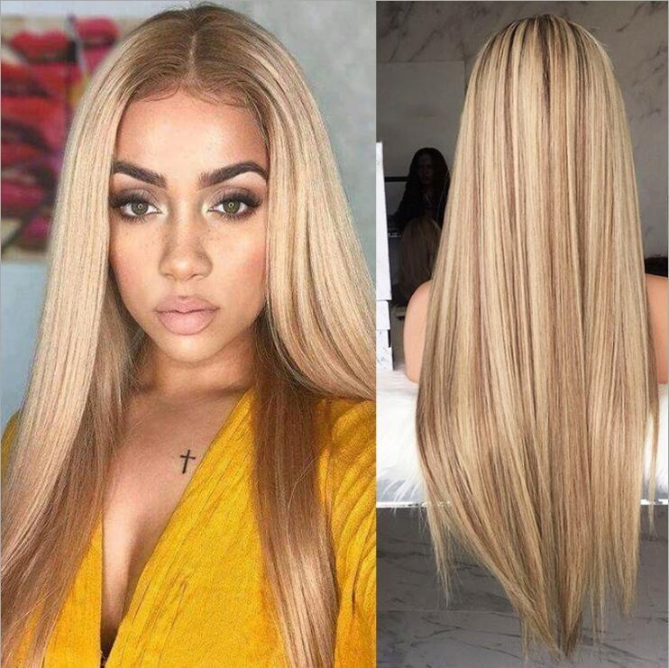 Glueless Lace Front Blond Human Hair Bob Wigs with Baby Hair Pre Plucked 60 Blonde Short Brazilian Full Lace Wig Virgin Hair