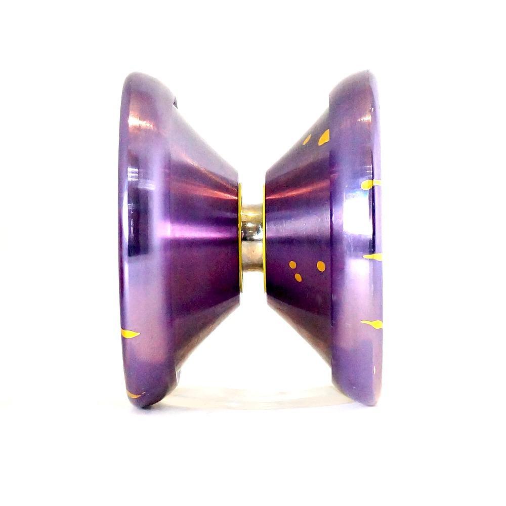 حار بيع ماجيك يويو K8 ليوبارد YOYO المعدنية التي تحمل المهنية يويو لعب الدعائم الخاصة DIABOLO شعوذة
