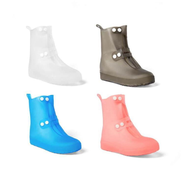 2021 High Quality New Rain Boots Waterproof Pvc Rubber Boots Non Slip Water Shoes Cover Rainy Day Men And Women Children Shoe Covers From Bags New 7 03 Dhgate Com